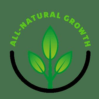 Greensoil All-natural growth logo